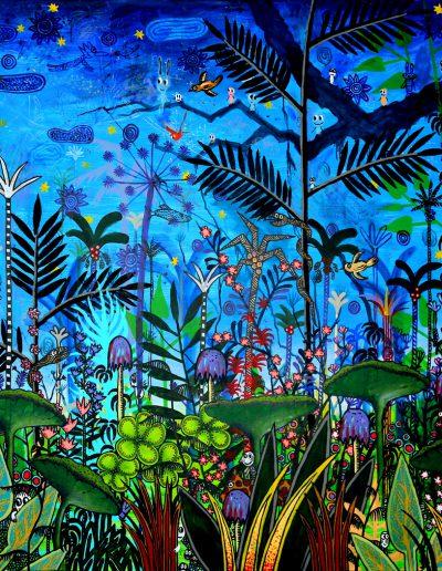 Paradis fantastique en bleu – Partie 2, 2012.