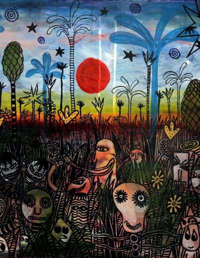 Les esprits de la forêt enchantée, 2009.
