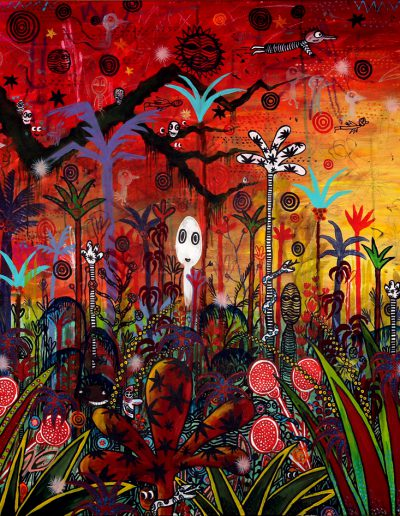 Paradis fantastique en rouge – Partie 1, 2012.
