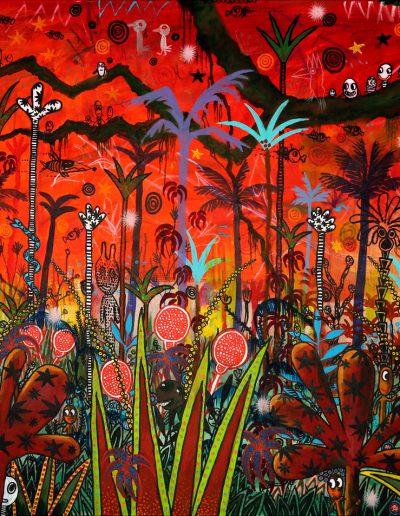 Paradis fantastique en rouge – Partie 2, 2012.