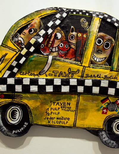 Cartoon Taxi, 2016.
