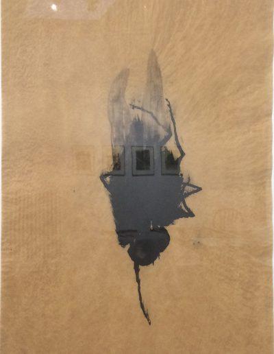 La mouche parachutiste n°2, 2010.