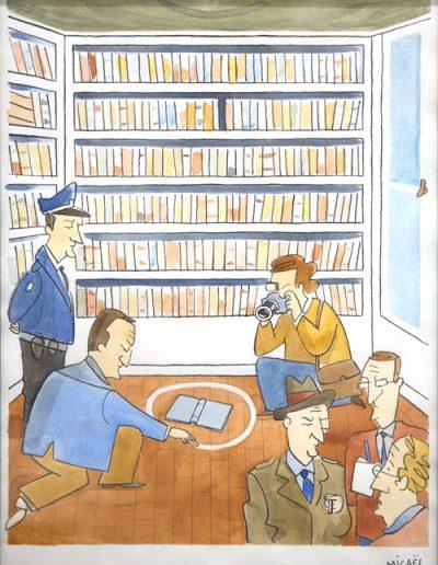 Crime littéraire, 2009.