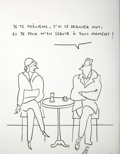 Dernier mot, 2013.
