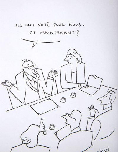 ils ont voté, 2013.