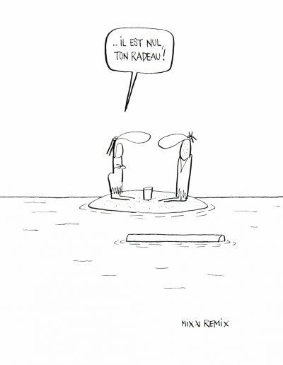 Les naufragés, 2015.