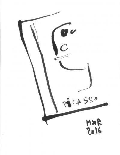 Picasso n°1, 2016.