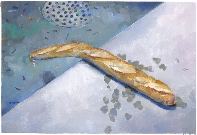 Baguette n°1, 2013.