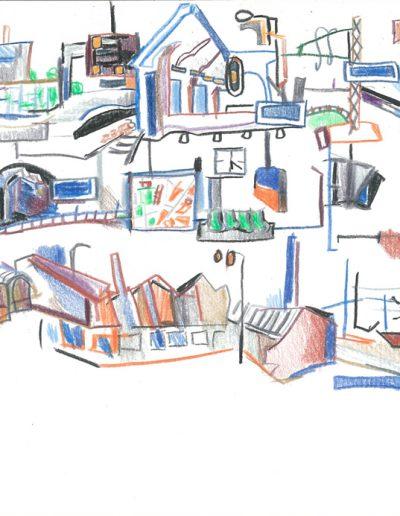 Plans et trajets, 2001.