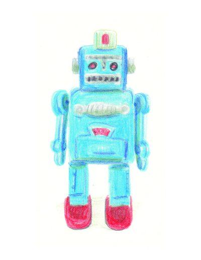 Objets, Robot de l'oncle Hermann, 2017.