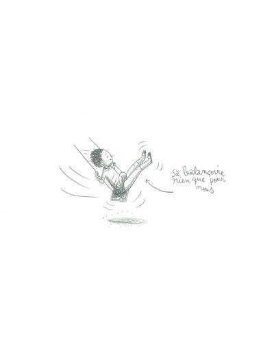 Adieu les enfants, La balançoire, 2017.