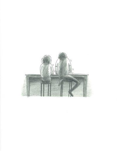 Adieu les enfants, Les enfants dessinent, 2017.