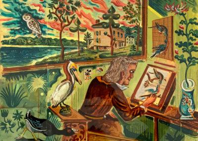 MARTHA, Audubon peint, 2015.