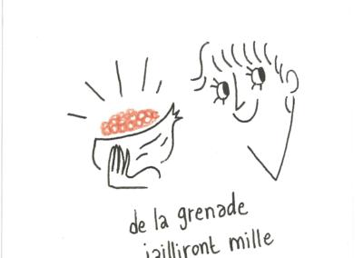 de grenade et de miel, 2019.
