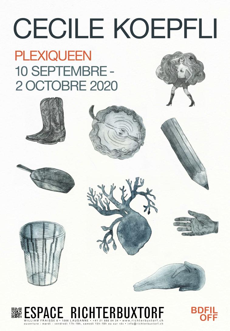Plexiqueen, notre exposition en marge de BDFil 2020