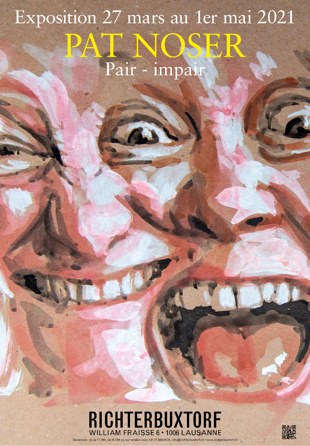 Première exposition Pat Noser en Suisse romande